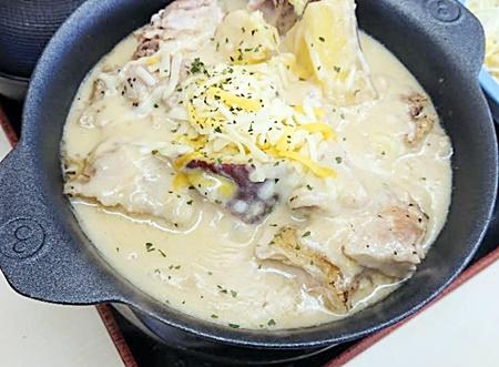松屋「シュクメルリ鍋定食」2020年1月14日実物2