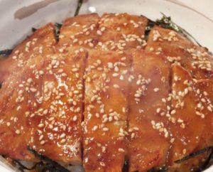 松屋のトンテキ丼